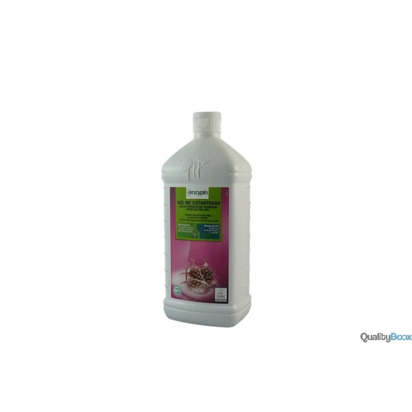 Gel wc d tartrant naturel action pin produit hygi ne for Deboucher wc produit naturel