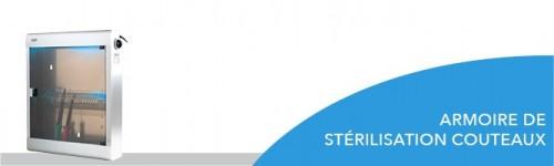 Armoire de stérilisation couteaux