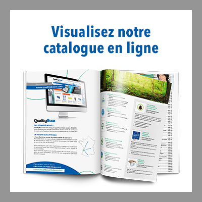 Visualisez le catalogue QualityBoox en ligne