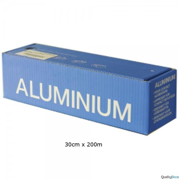 papier aluminium 30cm x 200m alimentaire en boites. Black Bedroom Furniture Sets. Home Design Ideas