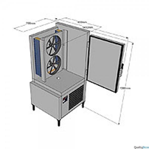 Cellule de refroidissement rapide for Chambre de refroidissement rapide