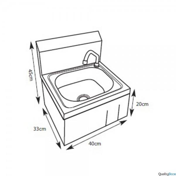 Lave main a commande femorale melangeur qualityboox - Commande femorale pour lave main ...