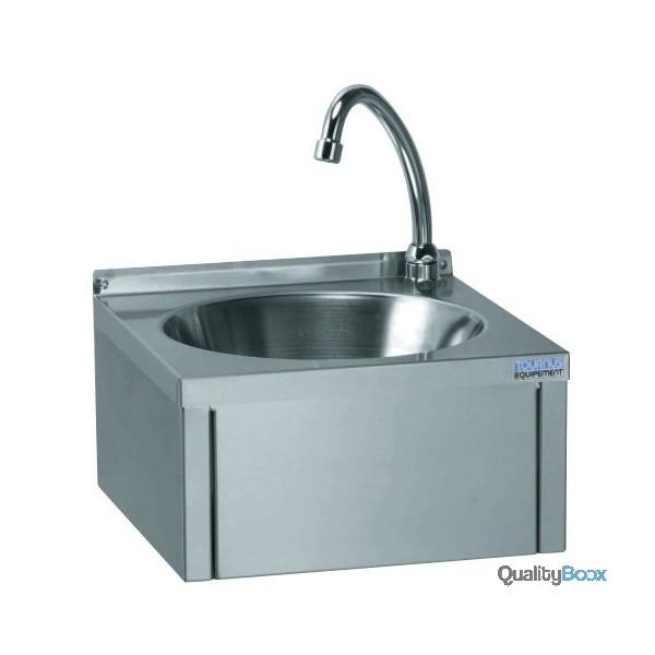 Lave main inox commande au genou hygi ne s curit sanitaire - Commande femorale pour lave main ...