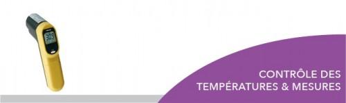 Contrôle des températures et mesures